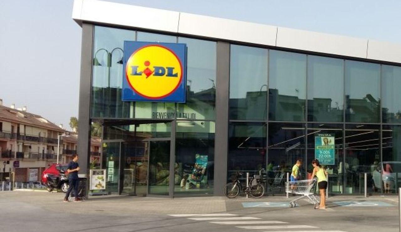 Imagen de un supermercado Lidl