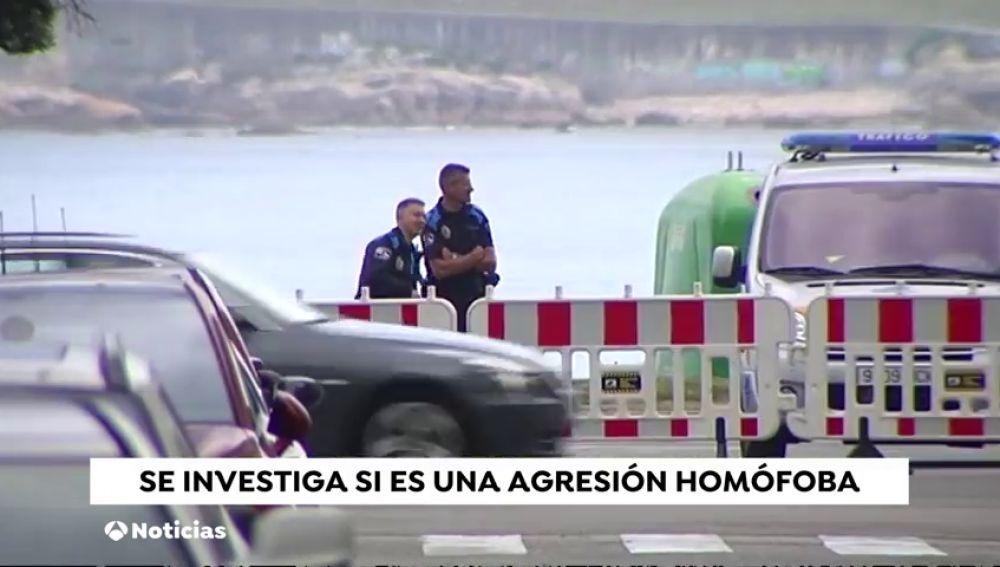 Apuñalan a un joven en una agresión homófoba en A Coruña