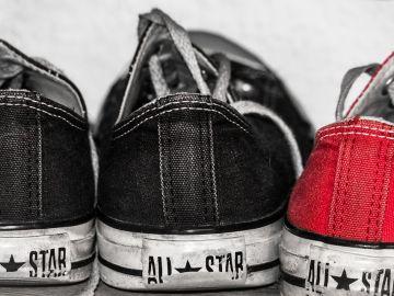 Zapatillas desgastadas