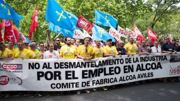 Protestas de Alcoa