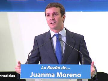 """Casado: """"Sánchez es el que tiene que desbloquear la investidura"""""""