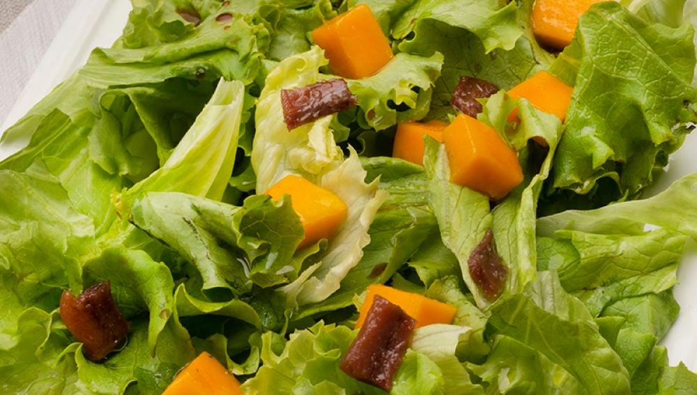 Karlos Arguiñano En Tu Cocina Ensalada De Mango Y Anchoas