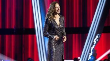 El look de Eva González en la Gran Final de 'La Voz Senior'