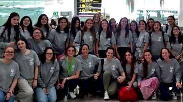 Alguna de las españolas que viajaron a Costa de Marfil