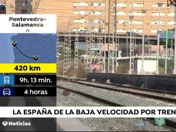 ¿Cuáles son las zonas peor comunicadas de España?