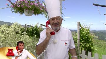 La llamada de Pablo Motos a Karlos Arguiñano