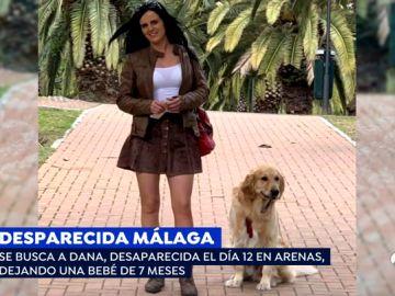 Desparecida en Málaga