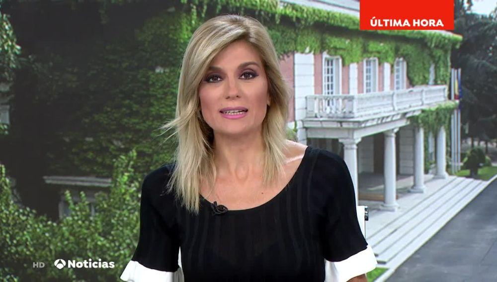 La periodista Sandra Golpe