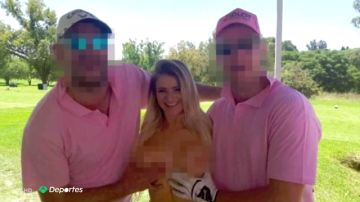 """Indignación en el mundo del golf con las 'caddies' desnudas: """"Las mujeres que se prestan a eso son unas desgraciadas"""""""