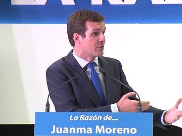 """Casado a Vox: """"El PP cumple la palabra dada"""""""