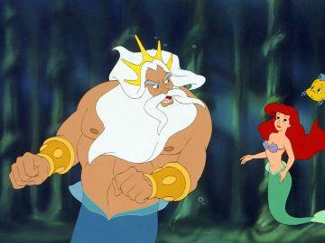 Tritón en 'La Sirenita'