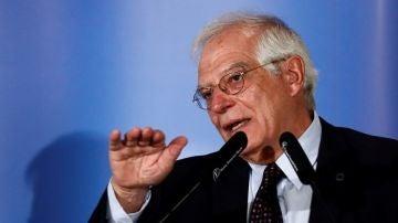 Comparecencia de Josep Borrell para renunciar como eurodiputado, en directo