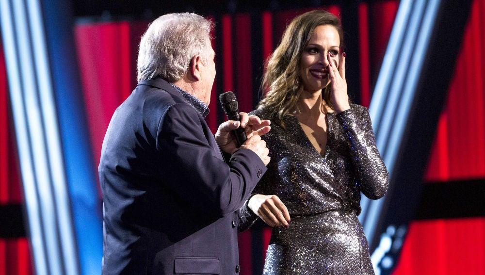 El momento más emotivo de Juan Mena y su familia en la Gran Final de 'La Voz Senior'