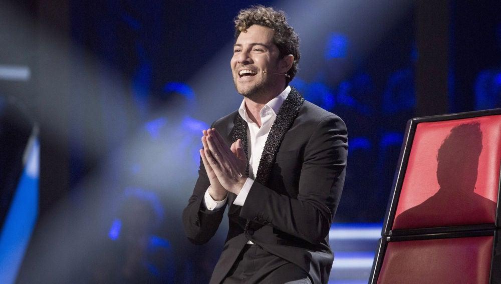 El orgullo de David Bisbal tras escuchar a su madre en la Gran Final de 'La Voz Senior'