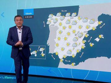 Vuelven el calor de 40 grados al litoral mediterráneo y las lluvias al norte