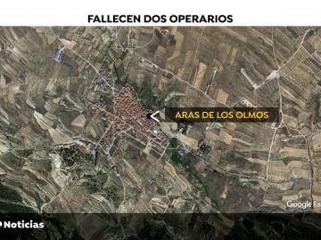 Mueren dos operarios al caer su grúa por un barranco de 40 metros en Valencia