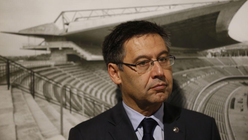 Josep María Bartomeu, presidente del Barça