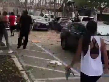 Varios heridos en una explosión por una fuga de gas en un centro comercial del sur de Florida