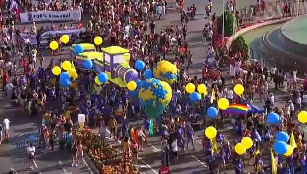 43 carrozas desfilarán en la cabalgata del Orgullo Gay de Madrid 2019
