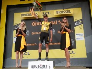 Mike Teunissen ganador de la primera etapa del Tour de Francia 2019