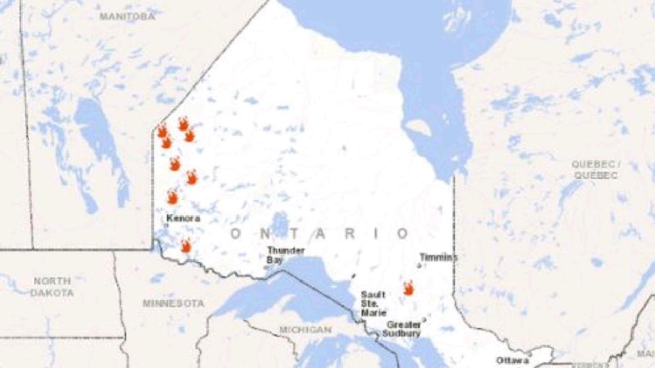 Más De 20 Incendios Forestales Afectan A Varias Zonas De