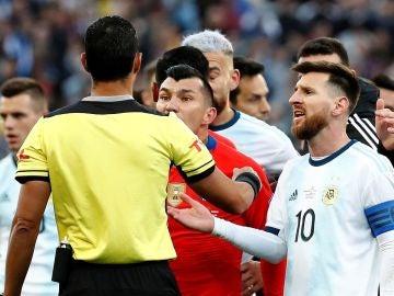 Leo Messi en la Copa América
