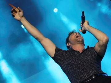 El cantante David Bisbal en concierto en el festival Sun&Stars en Las Palmas