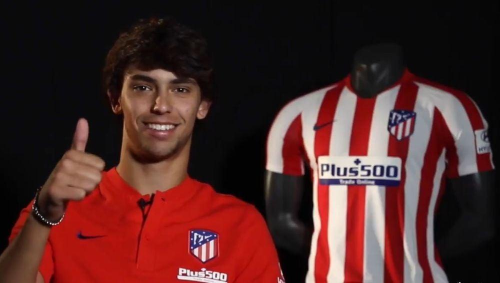 Joao Félix en el Atlético de Madrid