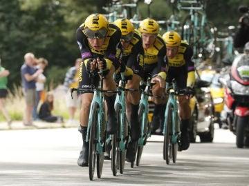 El equipo Jumbo, en el Tour