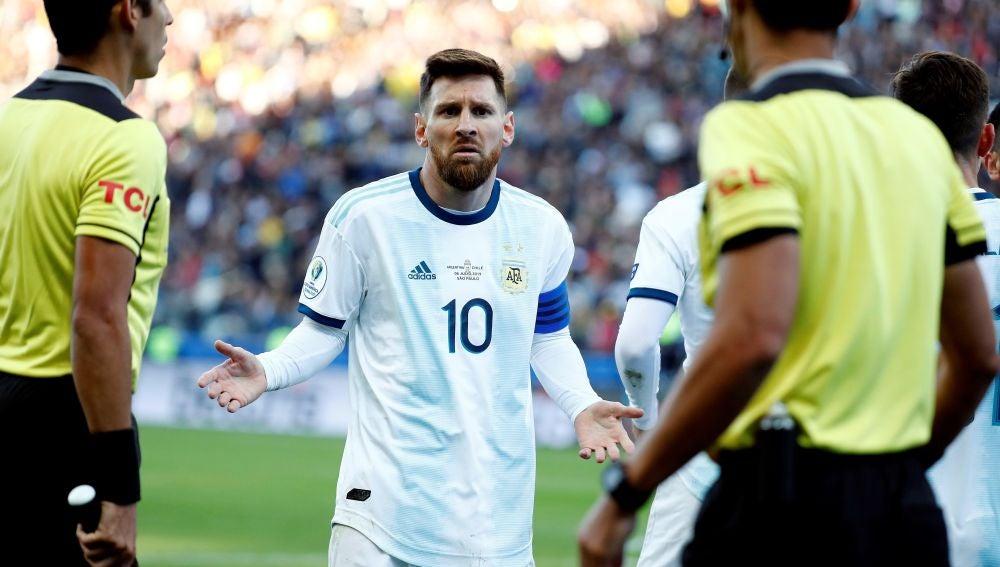 Messi en la Copa América