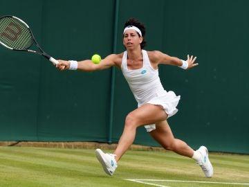 Carla Suárez en Wimbledon 2019