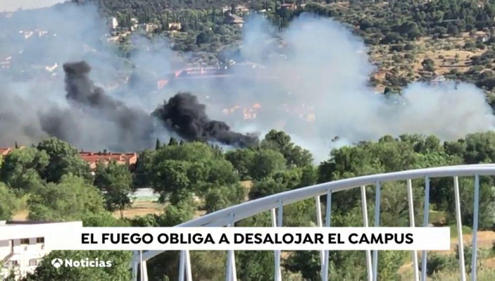 Un incendio en Toledo obliga a cambiar la ubicación de una graduación universitaria