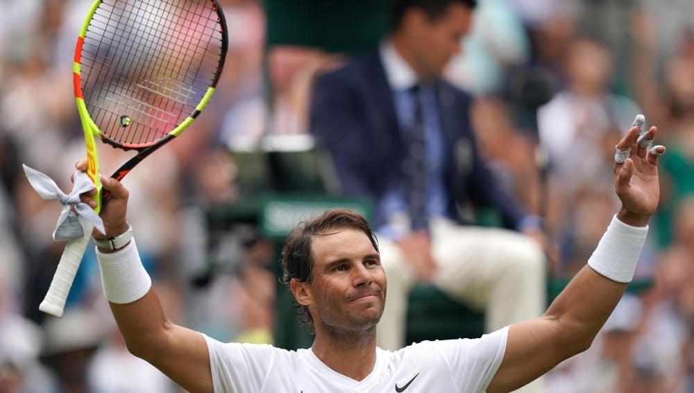 Rafa Nadal busca su pase a cuartos en Wimbledon