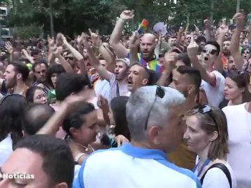 Vídeo de los abucheos a Ciudadanos en el Orgullo Gay de Madrid