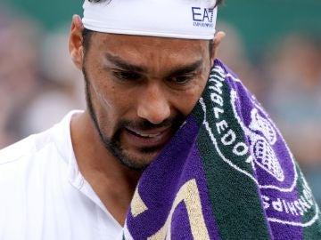 Fabio Fognini pide perdón por sus palabras en Wimbledon
