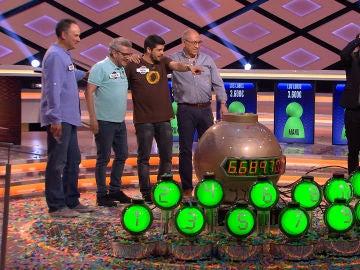 'Los Lobos' se alzan con el mayor premio jamás ganado en un concurso en el mundo, 6.689.700€