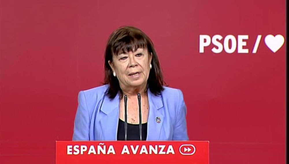 El PSOE insiste en un gobierno monocolor a ser posible este mes