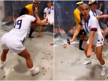 El sensual baile de la goleadora Alex Morgan que está reventando las redes sociales