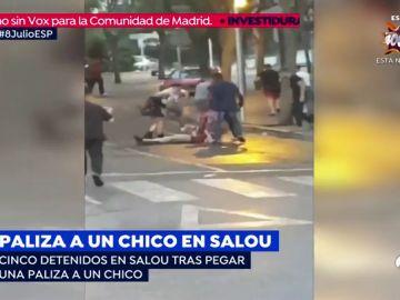 Detienen a cinco jóvenes tras pegar una paliza a un chico en Salou