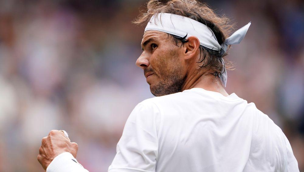 Nadal vence a Sousa y pasa a cuartos de Wimbledon