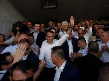 Grecia da la mayoría a la conservadora Nueva Democracia