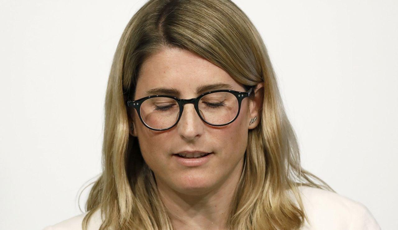 La dirigente de JxCat, Elsa Artadi