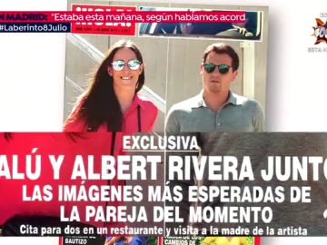 """Albert Rivera y Malú rompen su relación: """"A Ciudadanos nunca le gustó la cantante como novia"""""""