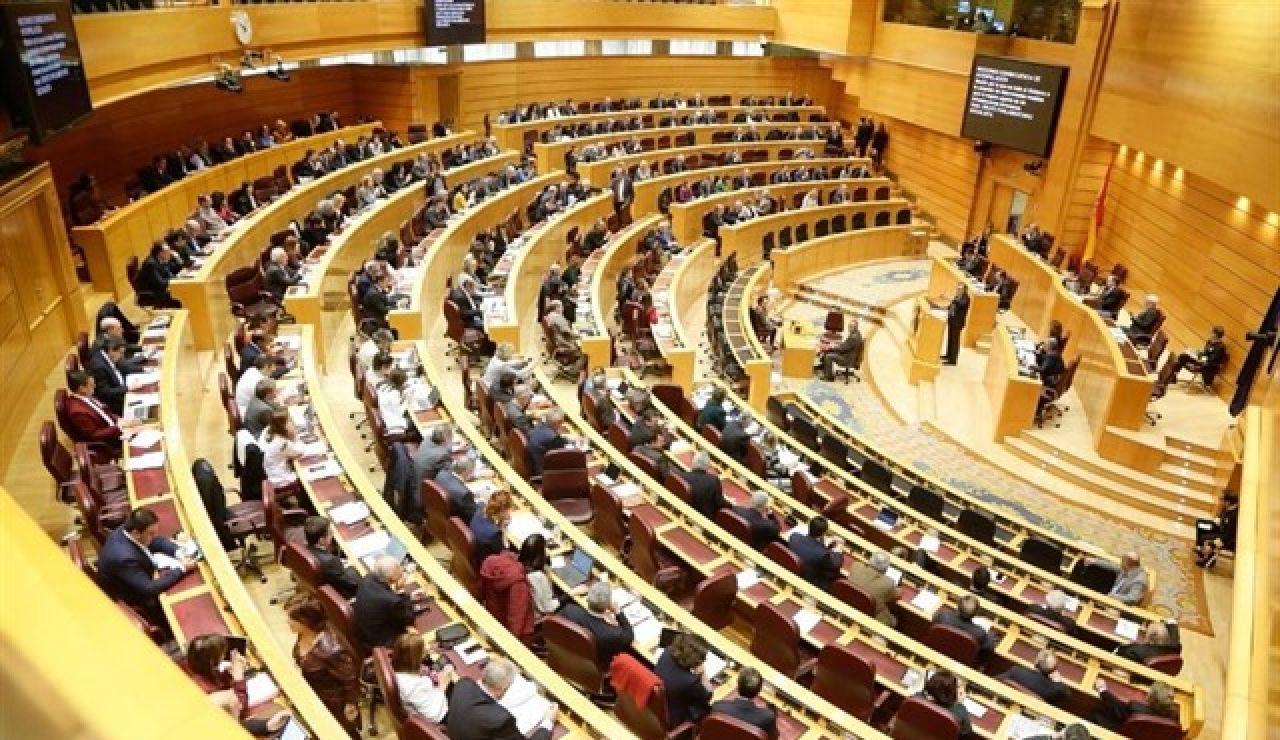 Imagen de una sesión en el Senado