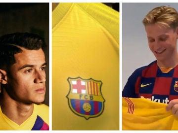Así es la segunda camiseta del Barcelona para la nueva temporada