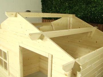 Cómo montar una caseta en el jardín