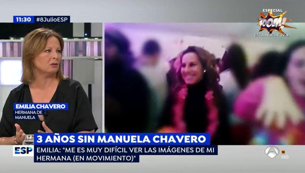 La hermana de Manuela Chavero.