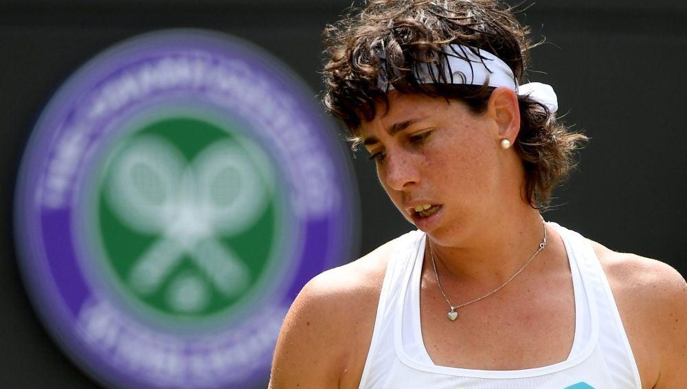 Derrota de Carla Suárez en los octavos de final de Wimbledon