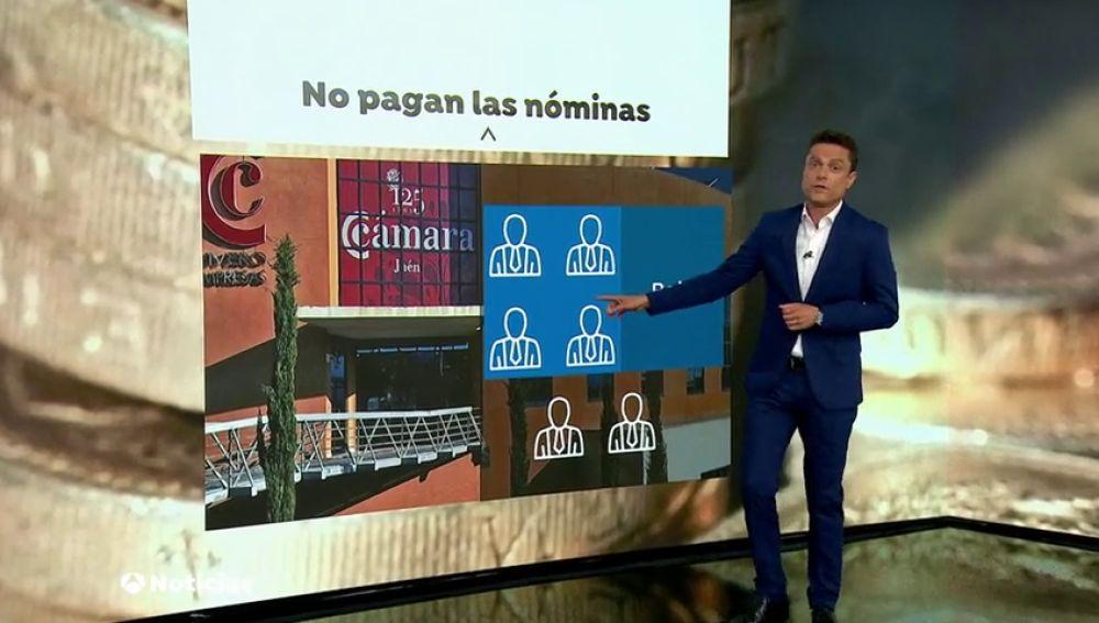 La Cámara de Comercio de Jaén no le paga a sus trabajadores desde hace 55 meses