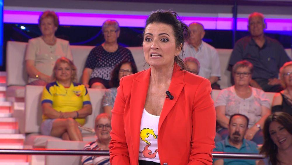 La curiosa recomendación de una concursante para Silvia Abril sobre salud mental en '¡Ahora caigo!'
